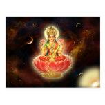 Diosa de Maa Maha Lakshmi Devi Laxmi de la riqueza Postal
