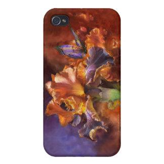 Diosa de milagros - irise la caja del arte para el iPhone 4 funda