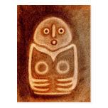 Diosa de pájaro 2 neología tarjeta postal