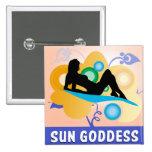 Diosa de Sun Pins