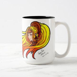 Diosa de Sun Taza Dos Tonos