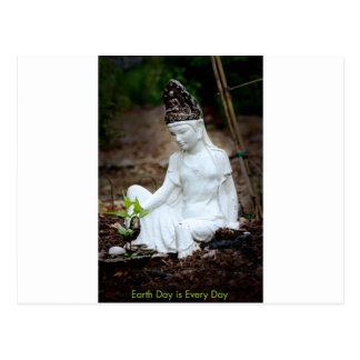 Diosa de tierra tarjetas postales