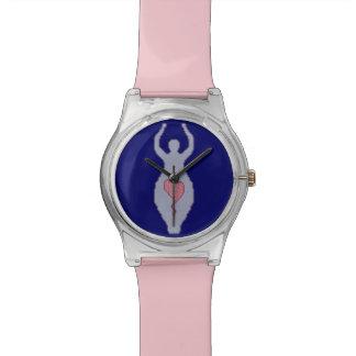 Diosa del amor relojes de pulsera