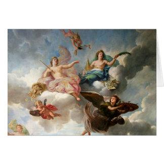 Diosa del ángel tarjeta pequeña
