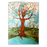 Diosa del árbol tarjeta de felicitación