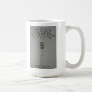 Diosa del árbol taza