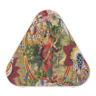 Diosa del bohemio del vintage altavoz