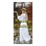Diosa del bosque - los saludos de la estación plantillas de lonas