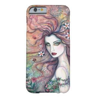 Diosa del caso de hadas del iPhone 6 del arte de Funda Barely There iPhone 6