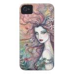 Diosa del caso de hadas del iPhone del arte de la  Case-Mate iPhone 4 Carcasa