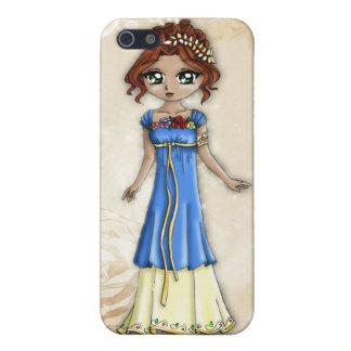 Diosa del caso del iPhone de la primavera iPhone 5 Carcasa