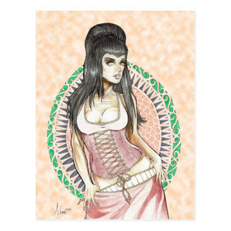 Diosa del DESTINO Tarjetas Postales