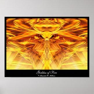 Diosa del fuego poster