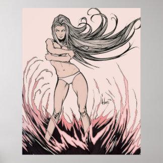 Diosa del fuego póster