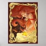 Diosa del fuego posters