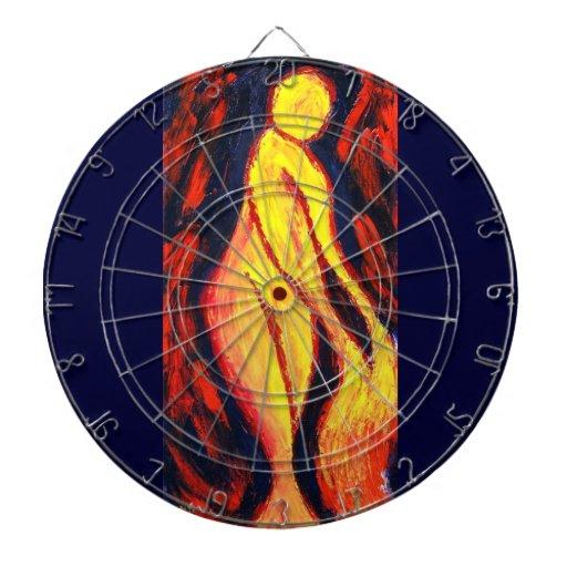 Diosa del fuego tablero dardos
