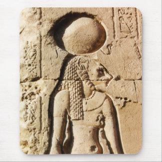 Diosa del gato de Sekhmet de Egipto superior Mouse Pad