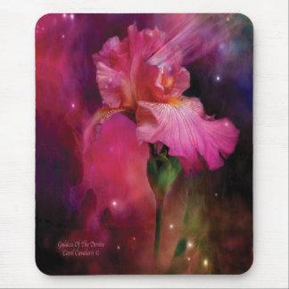 Diosa del iris Mousepad de Devine