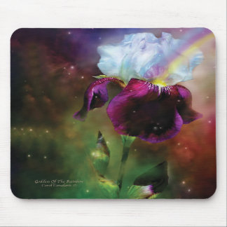 Diosa del iris Mousepad del arco iris Alfombrilla De Raton