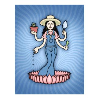 Diosa del jardín tarjetas informativas