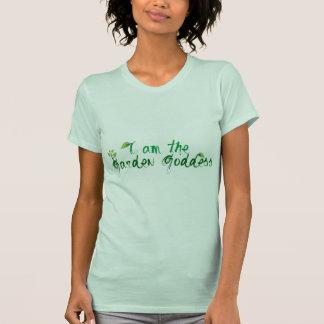 Diosa del jardín camisetas