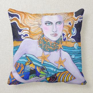 Diosa del mar cojin