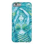 Diosa del mar funda de iPhone 6 barely there