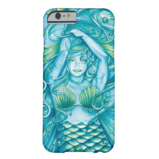 Diosa del mar funda para iPhone 6 barely there