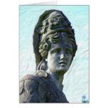 Diosa del parque de Holliday Tarjetas
