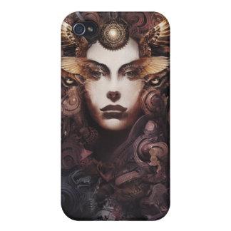 Diosa del polvo iPhone 4 cárcasas