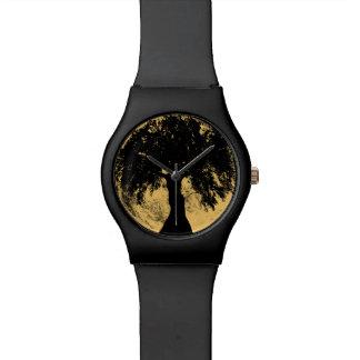 Diosa del roble de la luna de Glowees Relojes De Pulsera