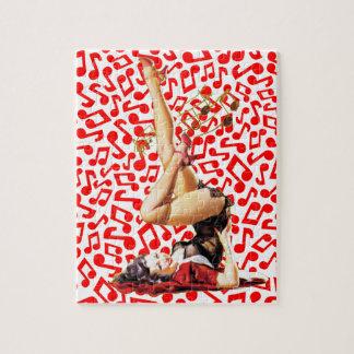 Diosa del Rockabilly II Puzzles Con Fotos