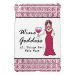 Diosa del vino que todas las cosas curan con el vi iPad mini cobertura