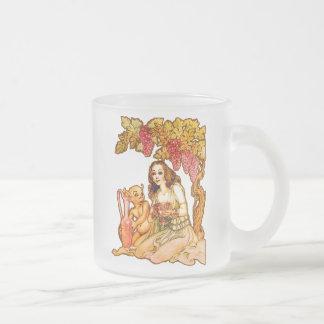 Diosa del vino taza de café