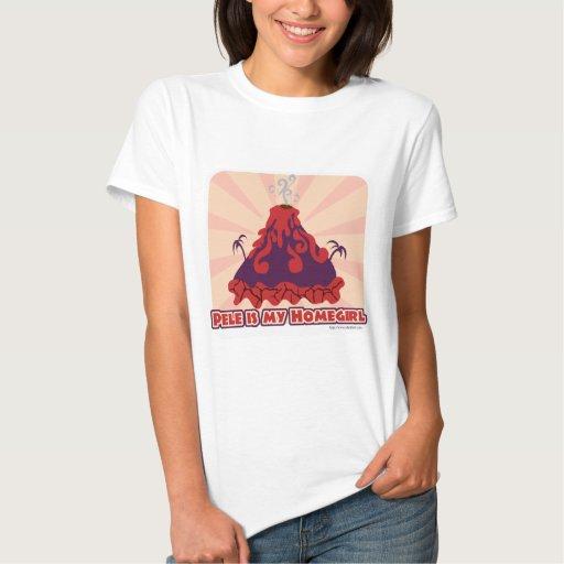 Diosa del volcán de Pele Remeras