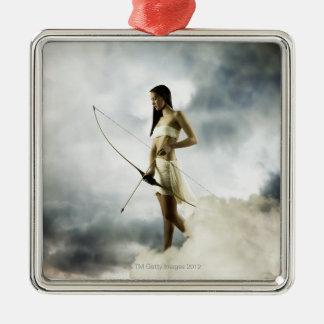 Diosa Diana con el arco y la flecha Adornos