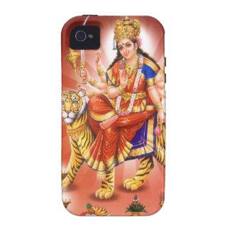 Diosa Durga diosa hindú Case-Mate iPhone 4 Carcasas