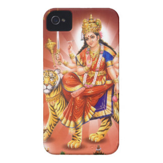 Diosa Durga diosa hindú iPhone 4 Case-Mate Cárcasa