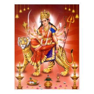 Diosa Durga (diosa hindú) Postales