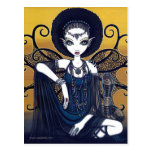 Diosa egipcia de Feary de la cobra de la postal de