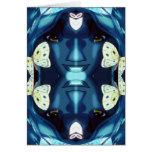 Diosa flotante tarjetas
