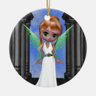 """Diosa griega de hadas de """"Hera"""" Ornamento De Navidad"""