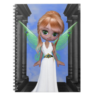 "Diosa griega de hadas de ""Hera"" Spiral Notebook"