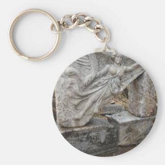 Diosa griega Nike en Ephesus, Turquía Llavero Redondo Tipo Pin