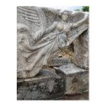 Diosa griega Nike en Ephesus, Turquía Postal