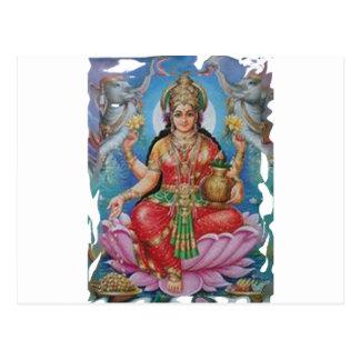 Diosa hindú de madres del día de las ideas felices tarjetas postales