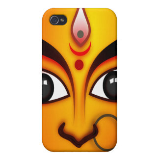 Diosa hindú Durga iPhone 4/4S Carcasa