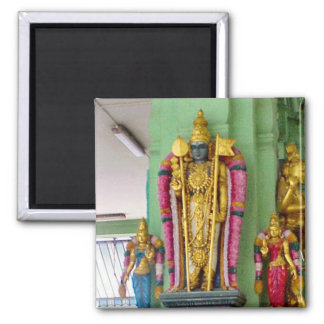 Diosa hindú imán cuadrado