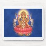 Diosa hindú Laxmi Devi Mata Alfombrilla De Ratones