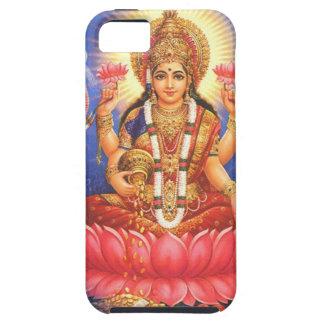 Diosa hindú Laxmi Devi Mata iPhone 5 Case-Mate Carcasas